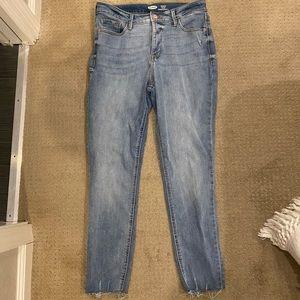 Super skinny high rise rockstar secret slim jeans